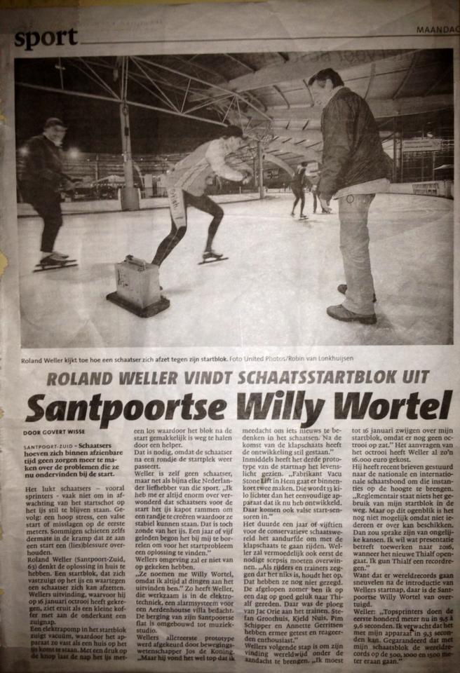 Krantenartikel Haarlems Dagblad